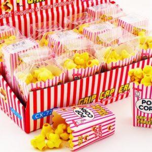 Popcorn Pencil Top Eraser