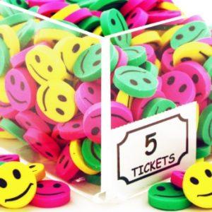 Smile Erasers - Mini