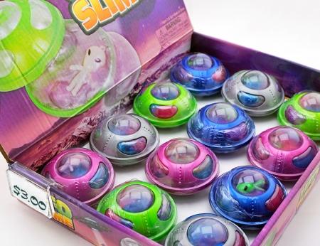 """UFO Alien Rainbow Slime 3"""""""