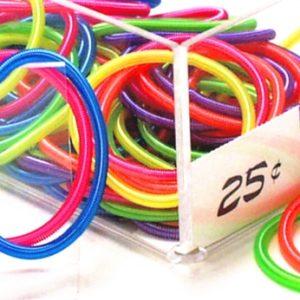 Child's Neon Coil Bracelet