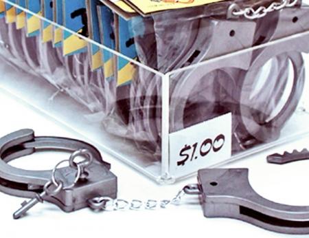 Plastic Handcuffs W/ Keys