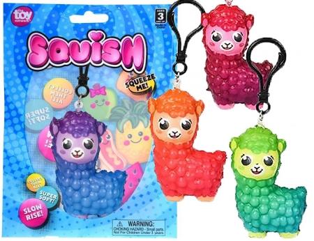 """Alpaca Squish Clip - 3"""""""