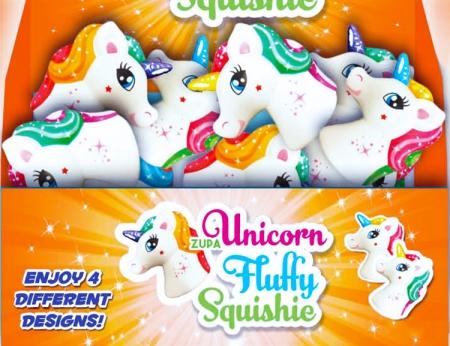 """Unicorn Squishie - 4.5"""""""