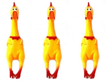 """Singing Chicken - Yellow 15"""""""