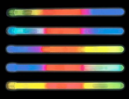 """10"""" Glow Stick - Tri Color"""