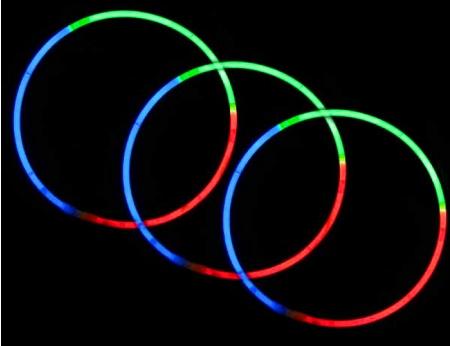 Glow Necklace - Tri Color