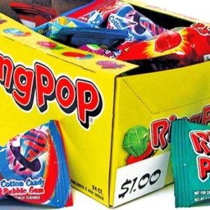 Ringpops Fruit Flavors
