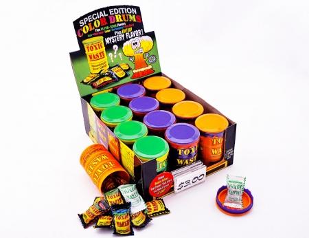 Toxic Waste Color Drums