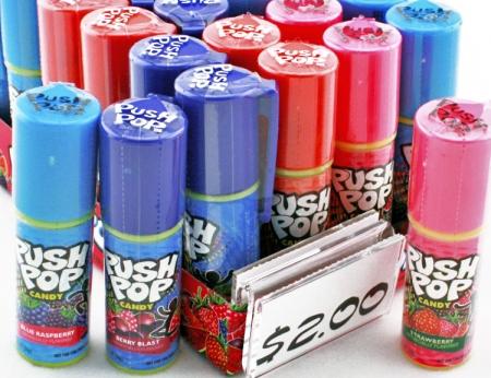 Push Pop Candy