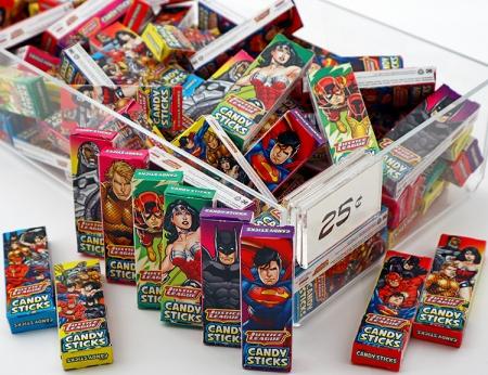 Justice League Candy Sticks