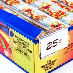 Sour Power Quattro Candy Belt