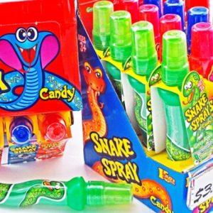 Snake Spray Candy