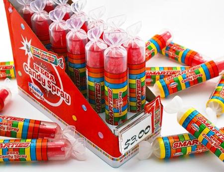 Smarties Mega Spray Candy