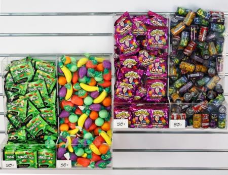 """Candy Bins - 15"""" High"""