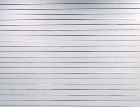 8'x4' Slatwall Aluminum Inserts