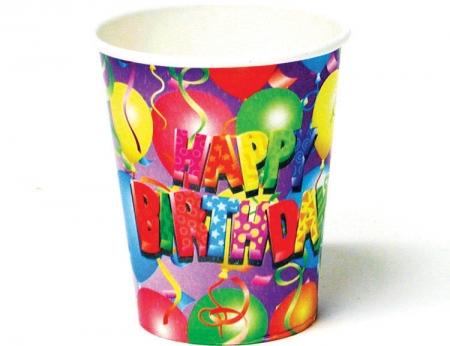 Balloon Birthday 9 Oz Cup