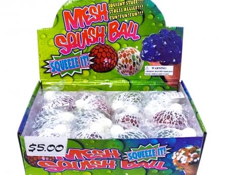 Flashing Mesh Squeeze Ball