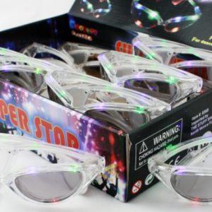 Superstar Flashing Sunglasses