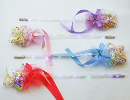 Flashing Lollipop Star Wand