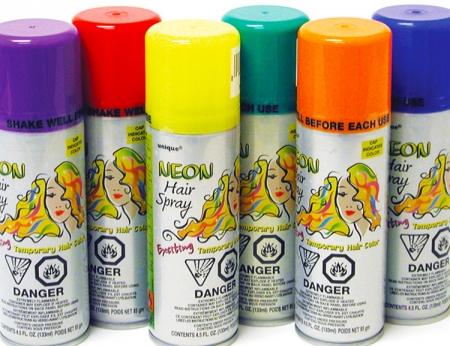 Neon Hair Spray - Asst Colors