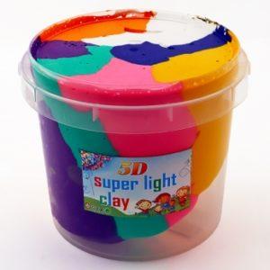 Rainbow Bucket Clay - Jumbo