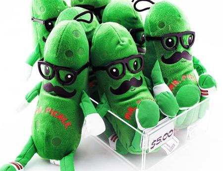 """Mr. Pickle Plush - 8"""""""