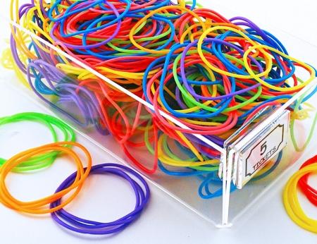 Vinyl Neon Jelly Bracelets
