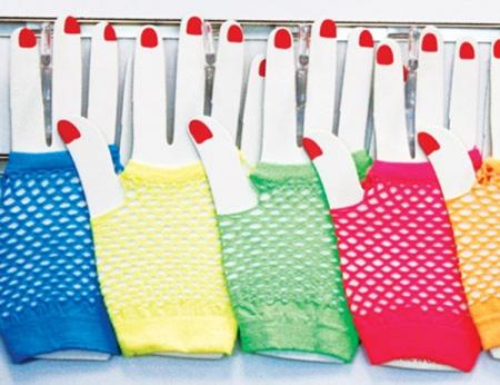 Fishnet Gloves - Short