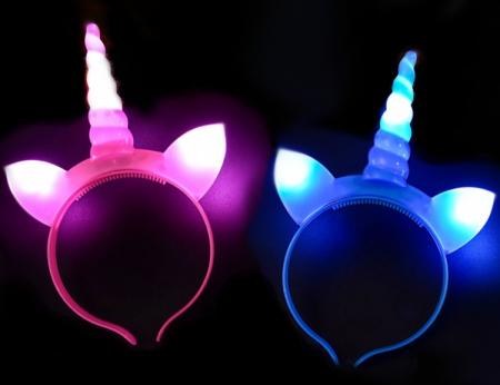 Flashing Unicorn Head Band