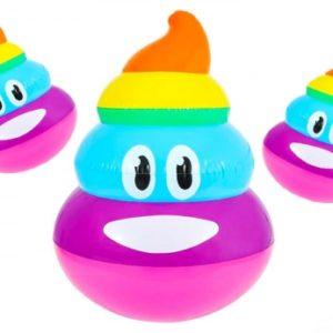 """Rainbow Poop Inflate - 24"""""""