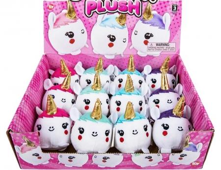 "Squish Plush Unicorn - 3"""