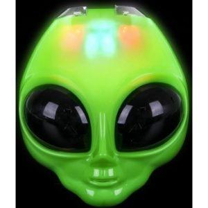 """Flashing Alien Mask - 8"""""""